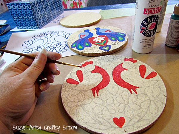 3 free folk art patterns to paint