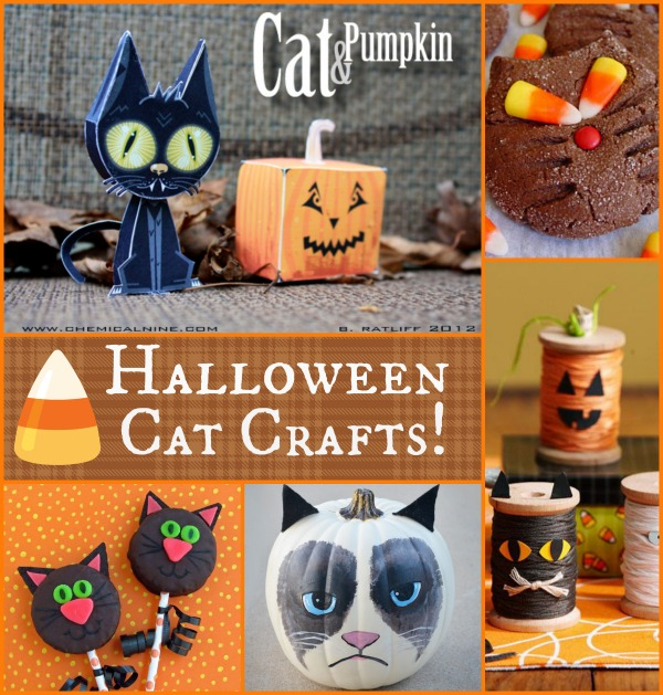 5 halloween cat crafts