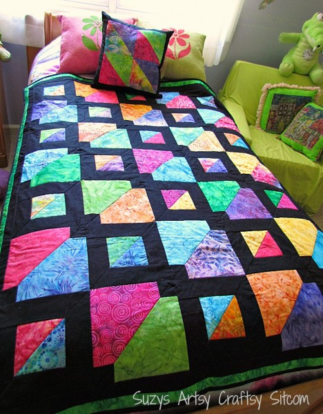 batiks gone wild quilt pattern for christmas gifts