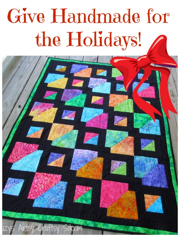 batiks gone wild quilt pattern for holiday giving