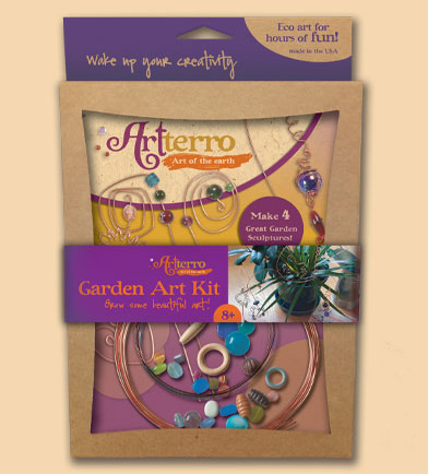 artterro garden art kids craft kit