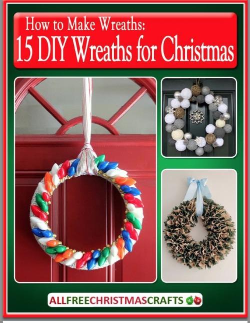 15 diy wreaths for christmas ebook