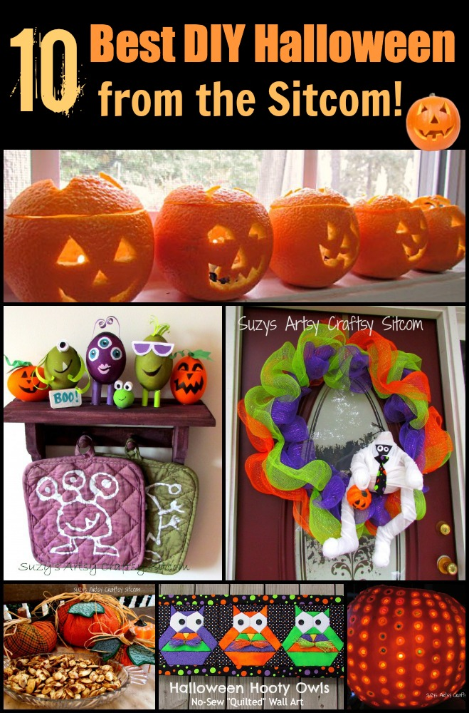 10 best diy halloween from suzys artsy craftsy sitcom