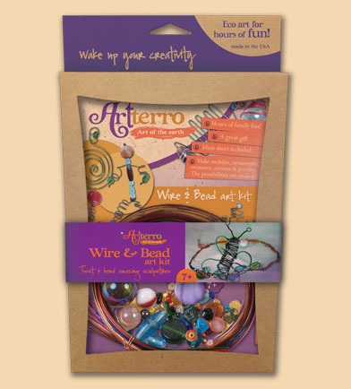 artterro wire bead kit kids crafts