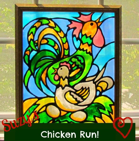 chicken run pattern