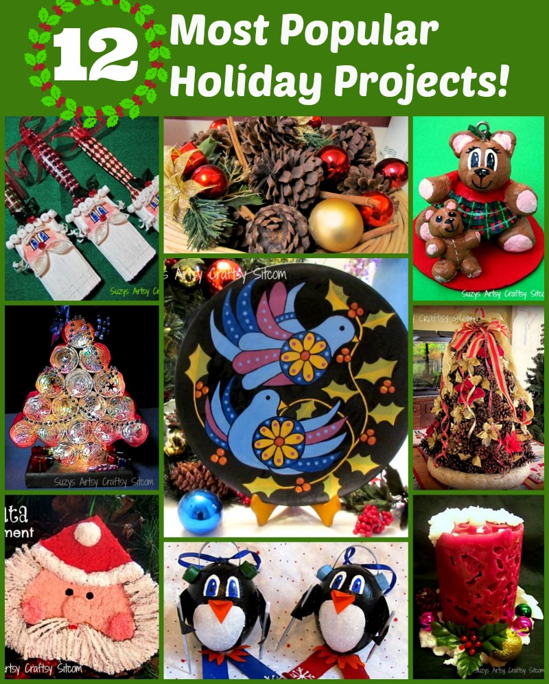 Top 12 Holiday Crafts