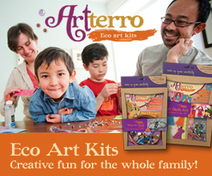 arterro eco art kits for kids