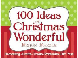 christmas wonderful 100 crafts diy recipes