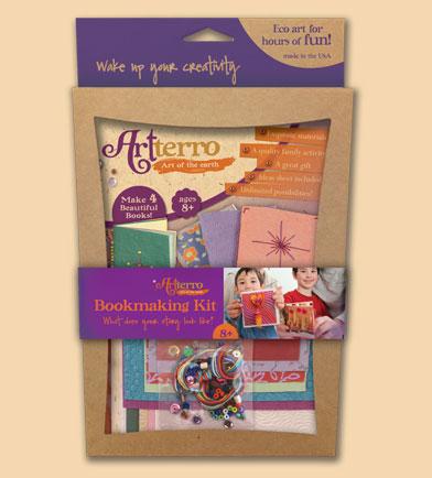 artterro handmade bookmaking kit
