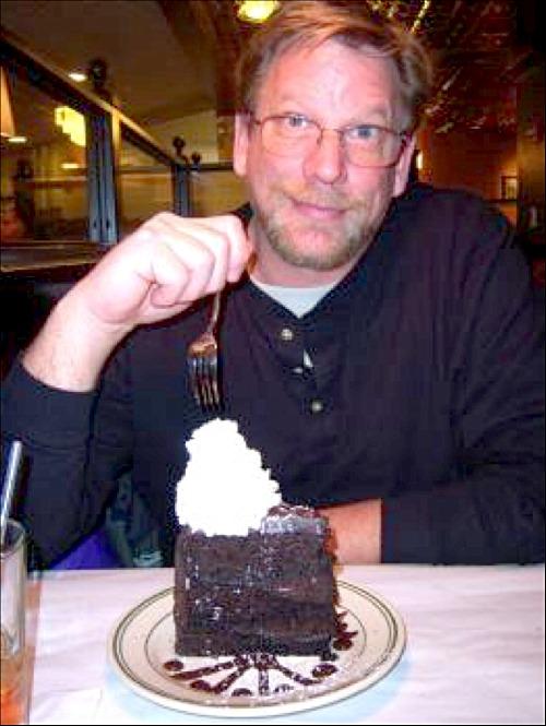 chocolate cake as big as your head