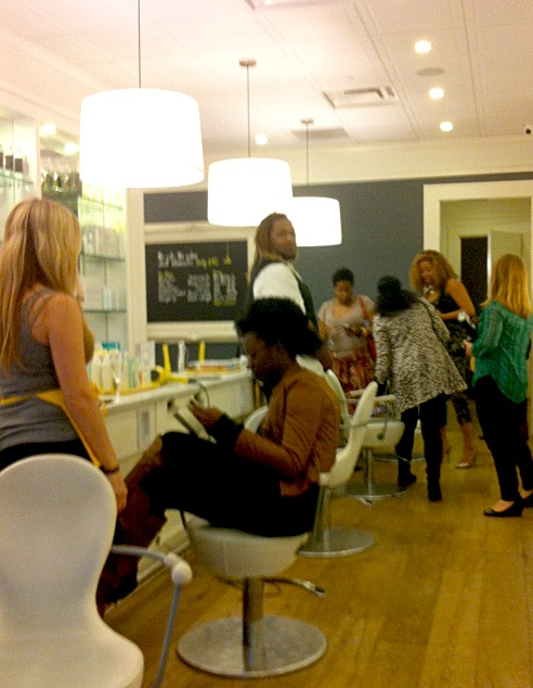 nexus7 preview party and hair blow out