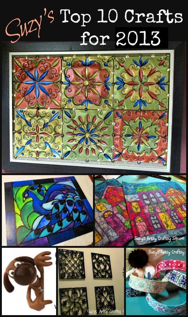 top 10 crafts tutorials for 2013