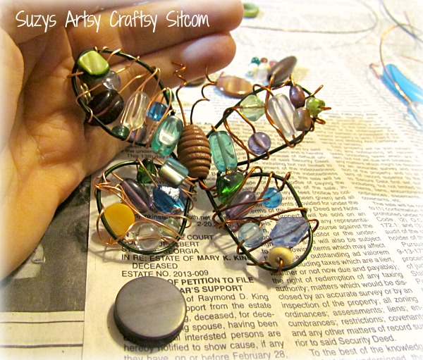 wire and bead art from artterro
