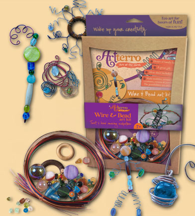 wire and bead kit from artterro