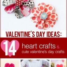 14 valentines crafts free ebook