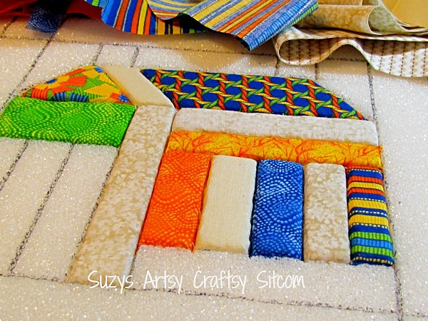 no sew quilting with fabric and foam
