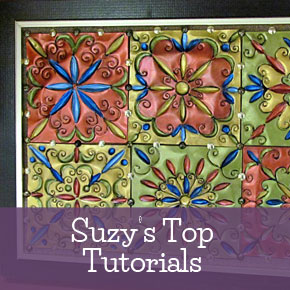 Suzy's Sitcom Top Craft Tutorials