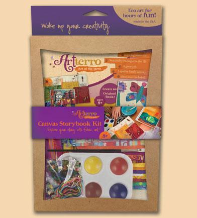 artterro canvas storybook kit