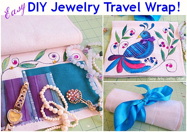 easy diy jewelry travel wrap