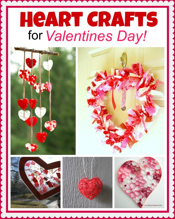 heart craft ideas