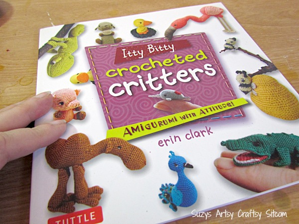 itty bitty crocheted critters book