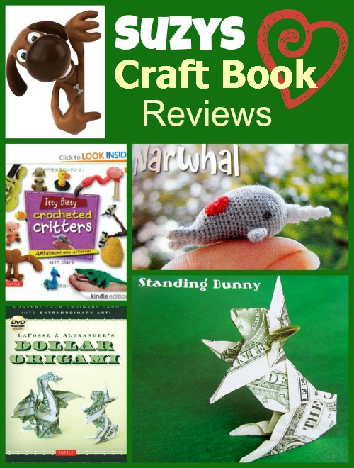 suzys craft book reviews origami crochet