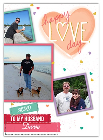 valentines day cards from treat personalized
