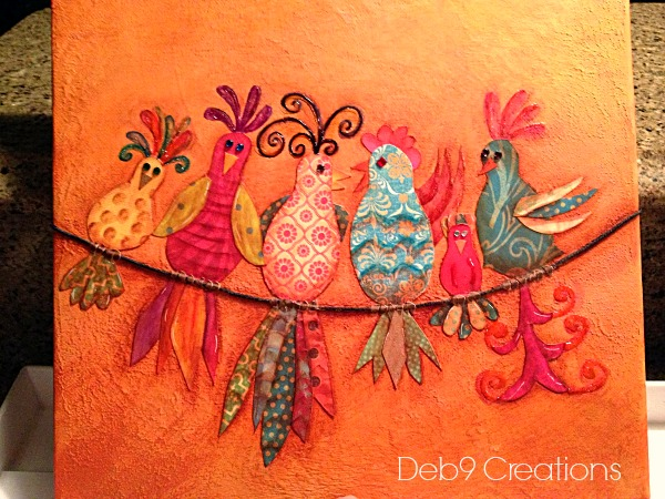 gossiping birds free pattern