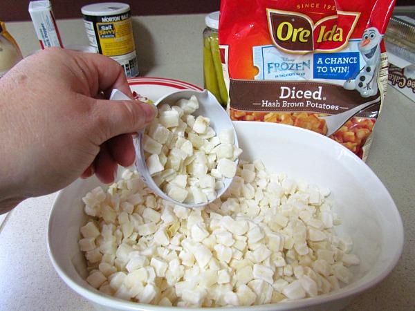 quick and easy potato salad recipe