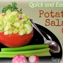 quick and easy potato salad recipe
