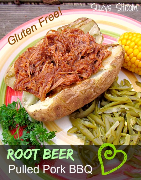 root beer pulled pork bbq gluten free