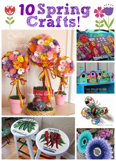 10 spring crafts