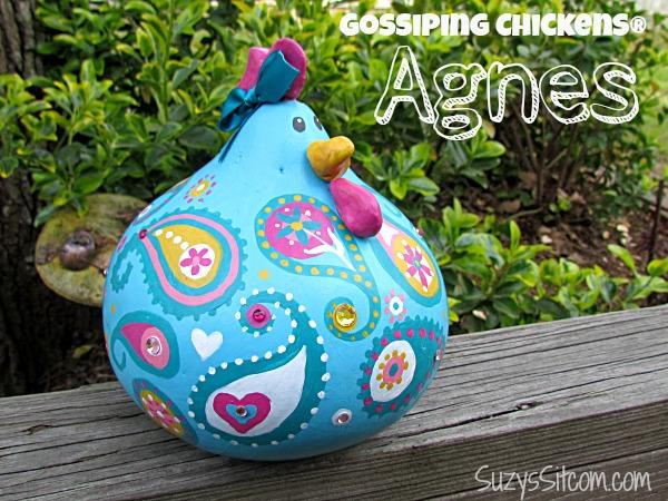 gossiping paisley chickens suzys sitcom