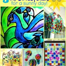5 diy suncatchers for a sunny day