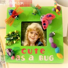 cute as a bug frame