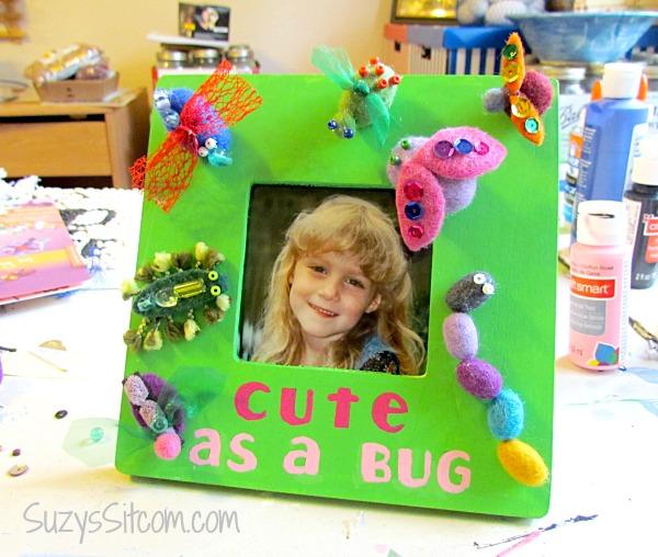 cute as a bug frame