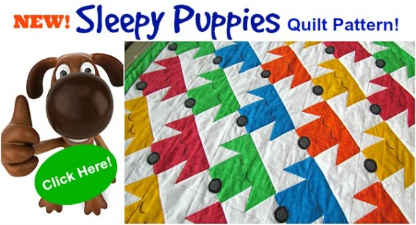 sleepy puppies quilt pattern