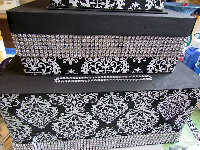 DIY Wedding Card Box – Bling Wedding Card Box