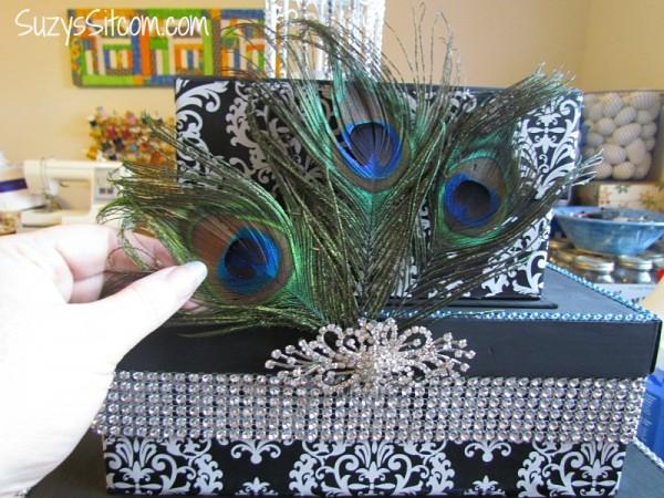 how to make a wedding card box