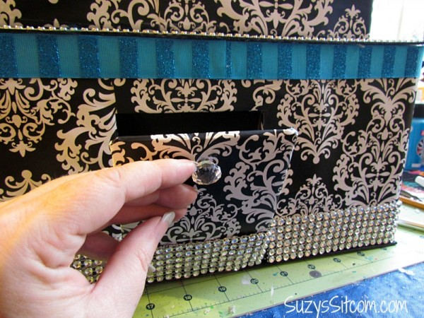 how to make a wedding card box