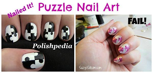 diy puzzle nail fail