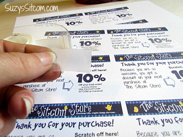 diy scratch off coupons