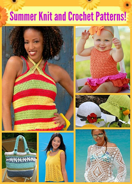 fun summer knit and crochet patterns