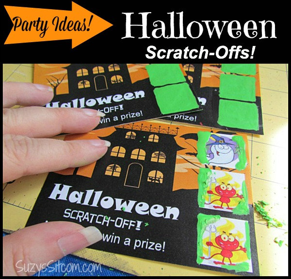 halloween scratch offs