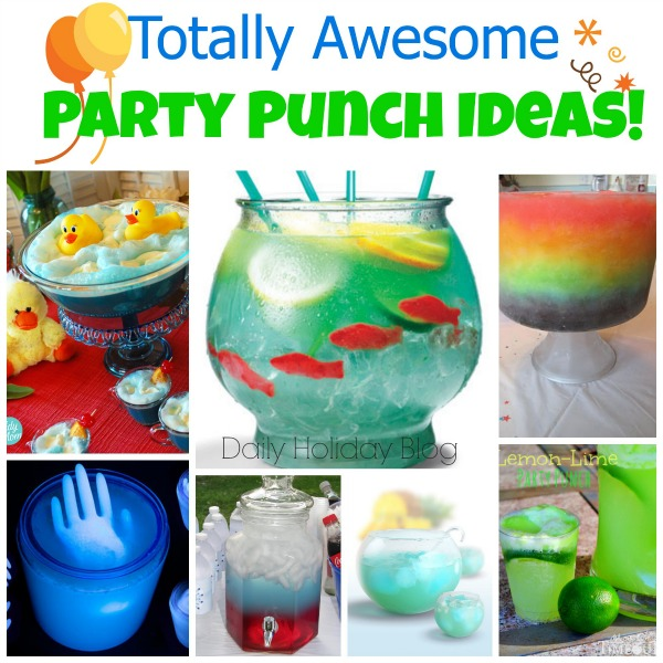 party punch ideas