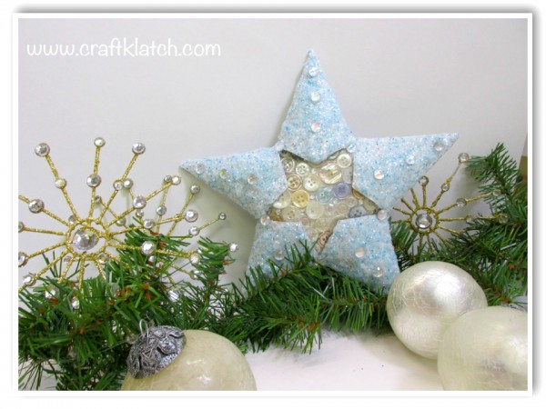 Christmas Challenge - Toilet Paper Tube Star