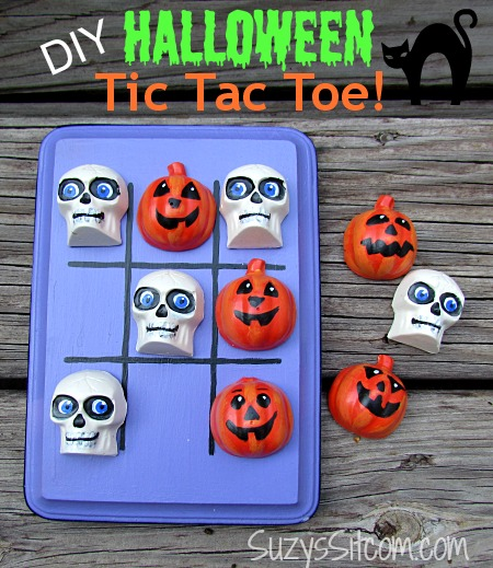 diy halloween tic tac toe