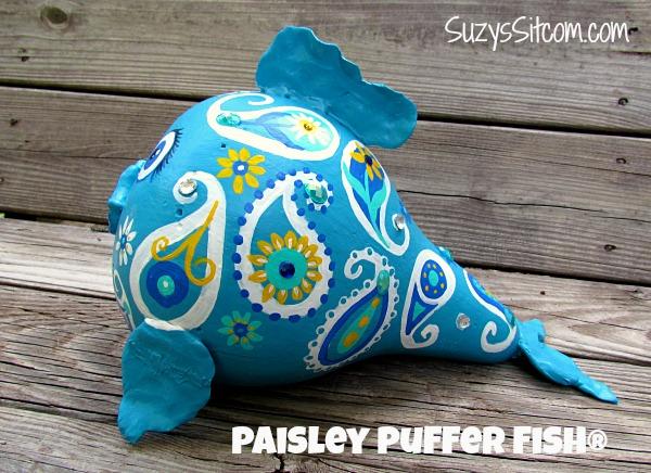 paisley fish gourd art5