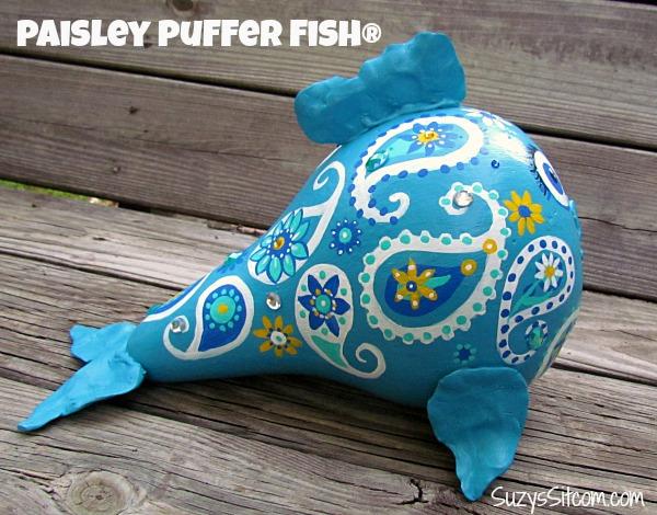 paisley fish gourd art7