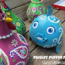 paisley puffer fish